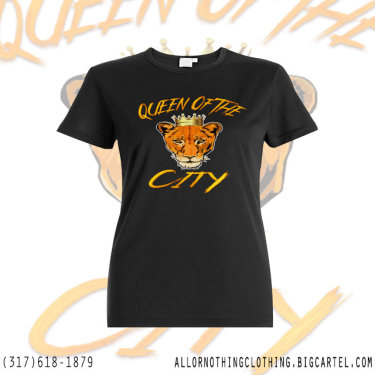 Queen Of The City T-Shirt Design