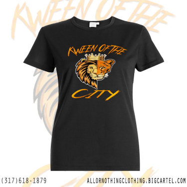 Kween Of The City T-Shirt Design