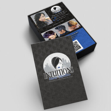Intuitions Hair Studio Business Cards