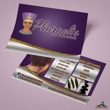 Pharaoh's Hair Extensions Flyer
