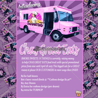 Chas Great Eats Flyer