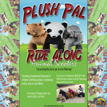 Plush Pal Ride Along