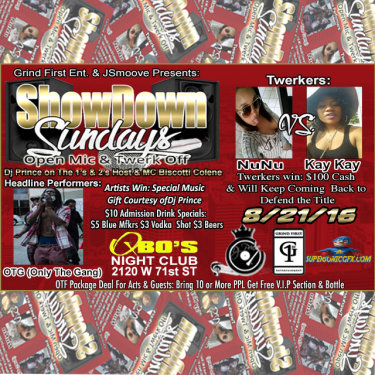 Showdown Sundays Flyer