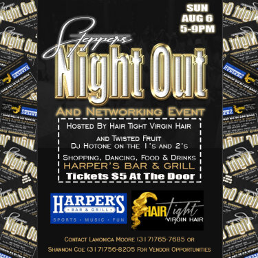 Stepper Night Out Flyer