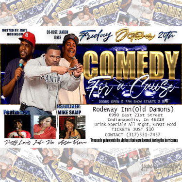 Nate's Comedy Showcase Flyer