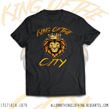 King Of The City T-Shirt Design
